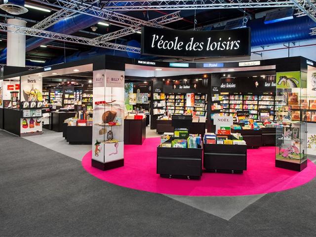 École Des Loisirs - Salon du livre de Montreuil - 216 m2