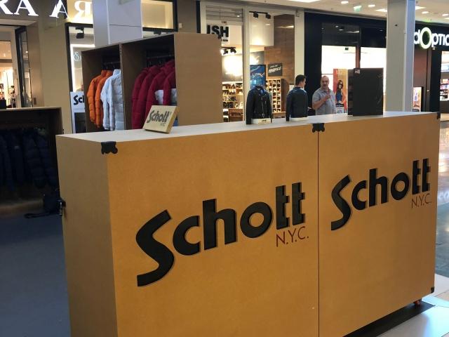 Schott Pop up Velizy 2